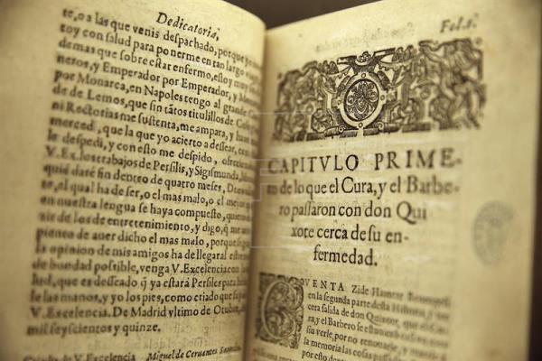 La Biblioteca Nacional no cerrará los lunes la exposición de Cervantes