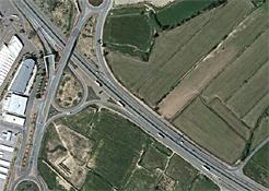 El Gobierno de Navarra cerrará el acceso directo desde un camino de servicio a la variante de Tudela