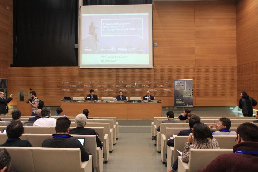 """180 emprendedores navarros participan en """"Open Data for European Entrepreneurs"""""""