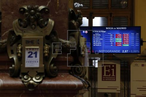 La incertidumbre política hunde a negativo la confianza del inversor español