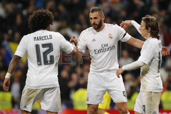 3-0. Modric mantiene en el pulso por la Liga a un Real Madrid lanzado