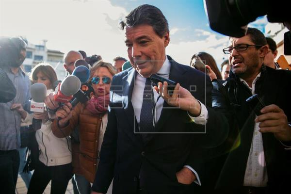 Ignacio González llega a los juzgados para declarar como investigado