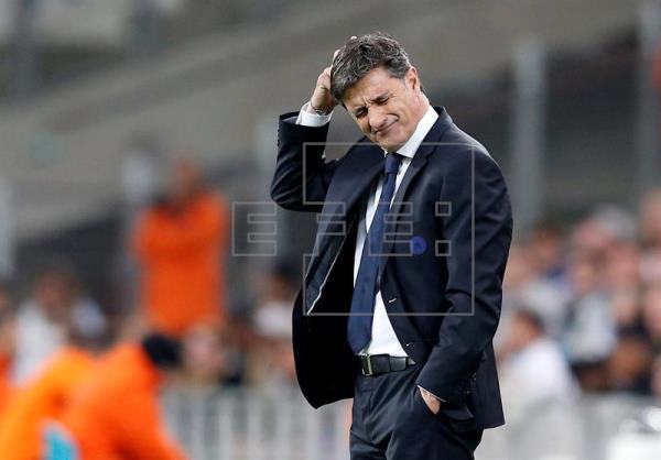 Michel es destituido como entrenador del Marsella