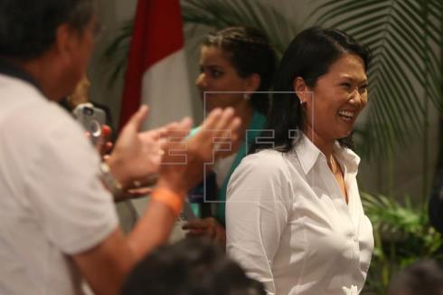 Keiko Fujimori y Pedro Pablo Kuczynski irán a la segunda vuelta en Perú