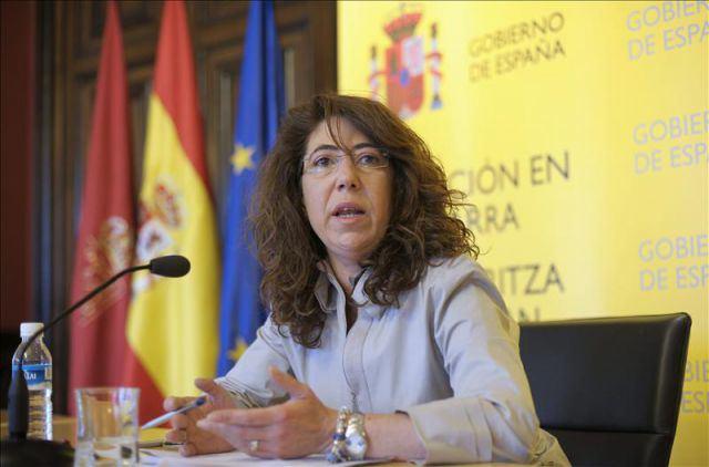 """Alba, a espera de relevo, contenta al contribuir """"Navarra siga siendo España"""""""