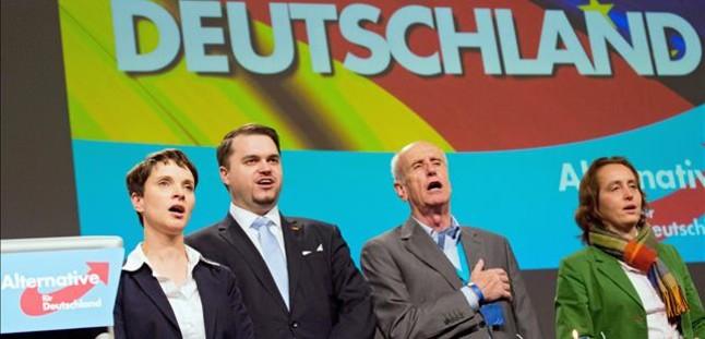 La AfD, por delante de la CDU de Merkel en un estado alemán, según los sondeos