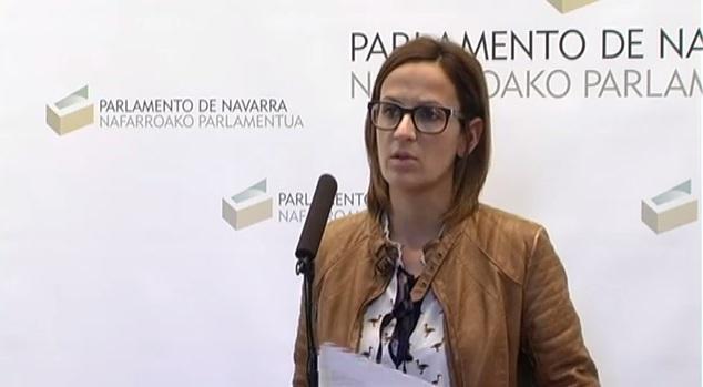 Chivite (PSN) considera una «crisis de gobierno» la «remodelación» de Barkos»