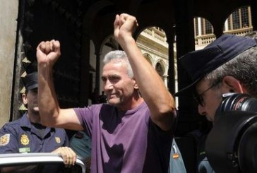 Detenido Cañamero (SAT) en Jaén para declarar por sustraer material escolar