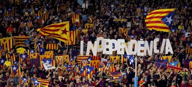 El Barcelona recurre en los juzgados el veto a las 'esteladas' en la final de Copa