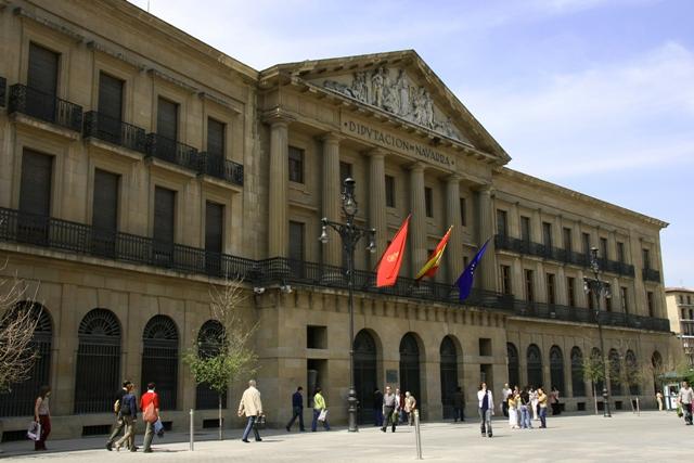 Las policías de Navarra se concentran en Pamplona contra el proyecto de Ley