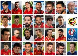 Convocados para la Euro 2016