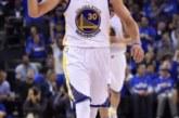126-85. Curry anota 35 puntos y los Warriors destrozan a los Rockets
