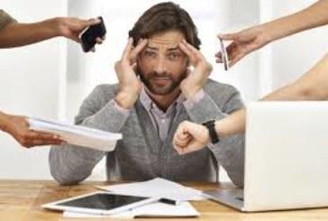 El estrés, bomba de relojería laboral