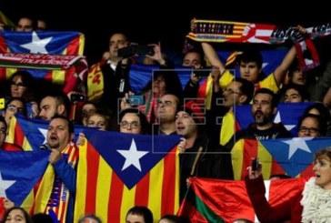 El TSJM confirma la prohibición de exhibir esteladas en la final de Copa de fútbol