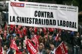 CCOO alerta de que en Navarra sigue creciendo la siniestralidad laboral
