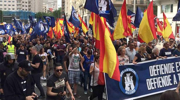 """La Fiscalía investigará la """"marcha ultraderechista"""" del 21 M por """"delitos de odio"""""""