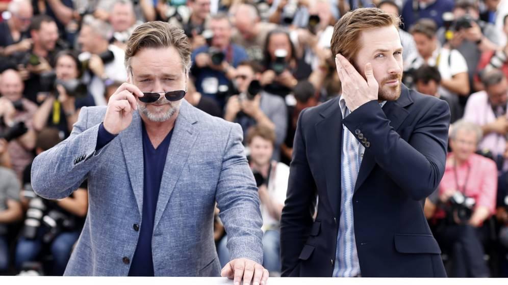 Russell Crowe y Ryan Gosling llegan a la cartelera con «Dos buenos tipos»
