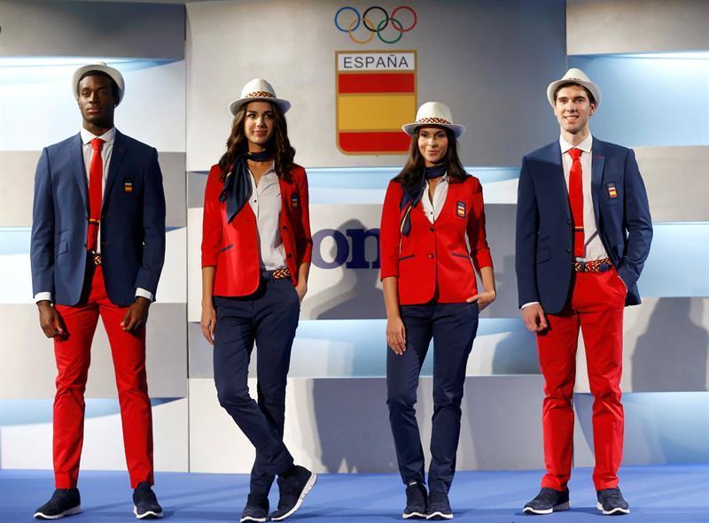 España vestirá chaquetas y pantalones contrastados en la inauguración de Río