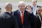 El rey Juan Carlos llega a Panamá para la inauguración del canal ampliado