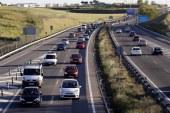 Diez muertos en ocho accidentes de tráfico durante el fin de semana