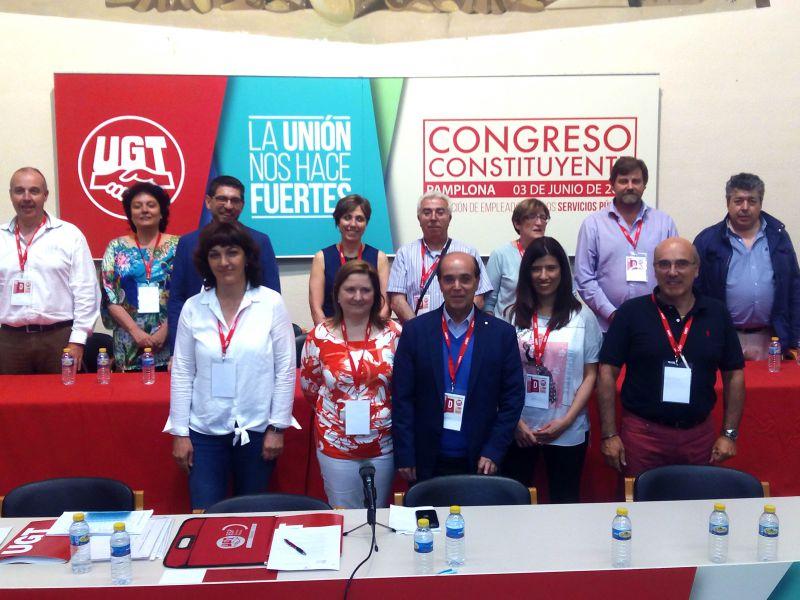 Constituido la nueva Federación de Servicios Públicos de UGT Navarra