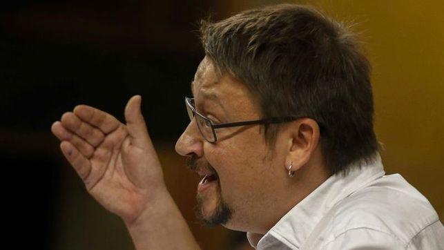 """Domènech(Podemos) llama a formar un """"frente democrático"""" que vaya desde la CUP al PSC"""