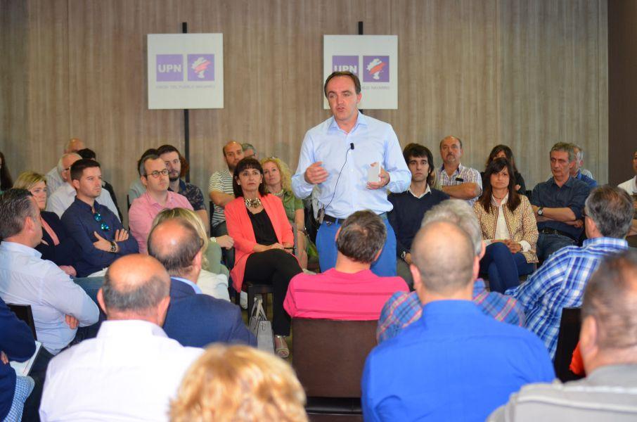 Esparza (UPN) reafirma el compromiso del partido por la igualdad de oportunidades