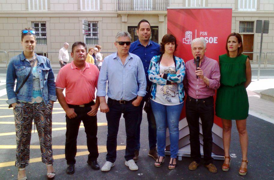 """26J: Fernández (PSN-PSOE) propone """"plan de choque"""" contra el paro de jóvenes y desempleados de larga duración"""
