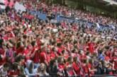 Sólo 15 aficiones disfrutaron en España de no ver perder a su equipo en casa
