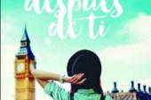 """AGENDA: 16 de junio, en El Corte Inglés de Pamplona, presentación libro """"Londres después de ti"""""""