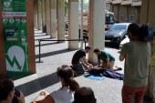 Cruz Roja instala el primer Desfibrilador Semiautomático en la vía pública de Pamplona