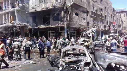 Aumentan a 41 los muertos en bombardeos a dos ciudades del norte de Siria