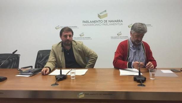 Geroa Bai lamenta que Navarra «esté a la cola» de las inversiones del Estado