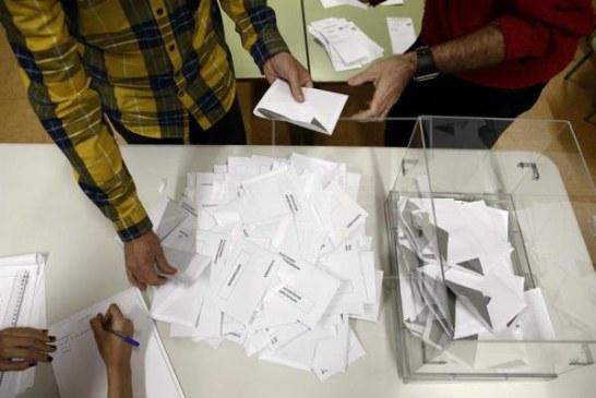 Cierran los colegios electorales en la Península: Comienza el recuento