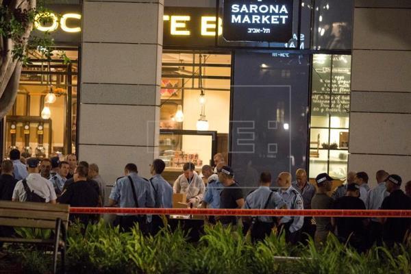 Atentado en el corazón de Tel Aviv con cuatro muertos