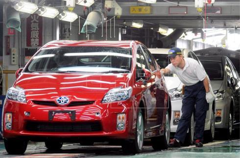 Toyota suspende parte de su producción en Japón tras una explosión