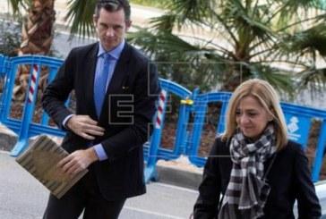 La infanta Cristina llega al juicio de Nóos para «escuchar» las conclusiones