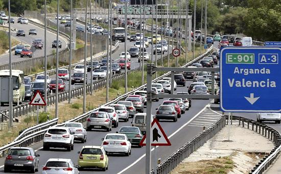 Ocho fallecidos en las carreteras en el fin de semana