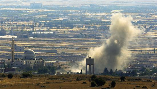 La coalición internacional niega un ataque a un almacén químico del EI en Siria