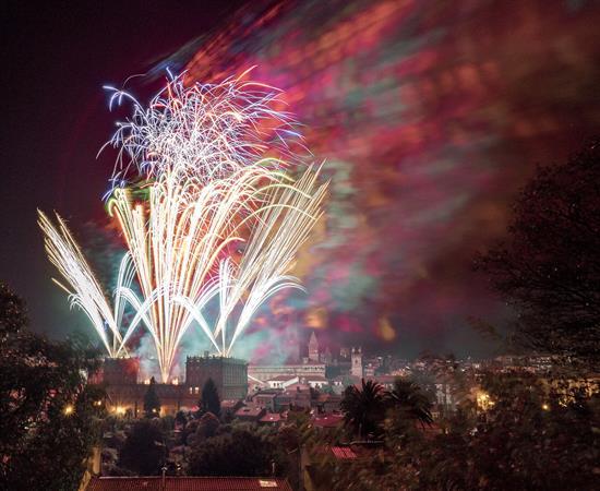 Habrá novedades en el concurso internacional de fuegos artificiales de San Fermín
