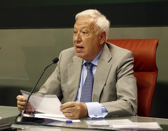 Margallo, elegido presidente de la Comisión Mixta de Seguridad Nacional