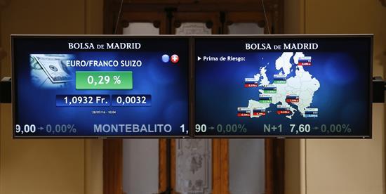 La prima de riesgo española sube a 116 puntos