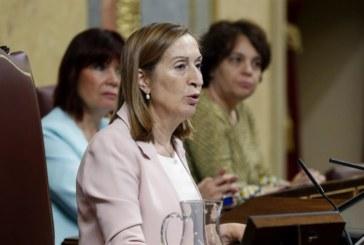 Ana Pastor: «El Parlamento debe ser generador de los consensos necesarios»