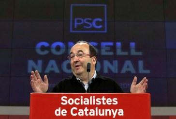 Iceta: «Colau nos ha asegurado que Barcelona no se saltará la ley en el 1-O»