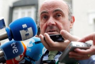 """De Guindos cree que pese a la """"fatiga"""", Europa debe seguir con las reformas"""
