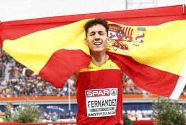El navarro Sergio Fernández logra la mínima en 400 vallas para los Mundiales de Londres