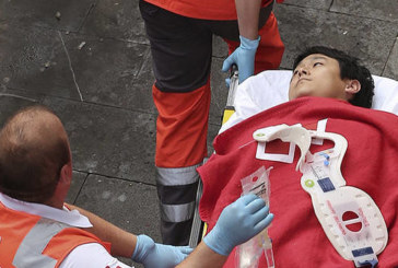 Heridos 14 corredores en el tercer encierro de José Escolar, dos de ellos por asta de toro