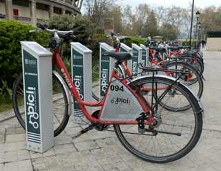 El servicio de bicicletas Nbici vuelve a estar operativo a partir del domingo