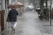 Seis provincias están hoy en alerta amarilla por lluvias y tormentas