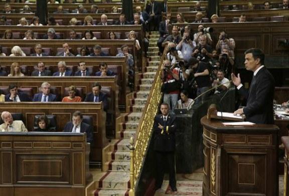 Sánchez replica a Rajoy que nadie le bloquea y que la responsabilidad es suya
